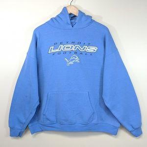 Vintage 90's Detroit Lions Hoodie